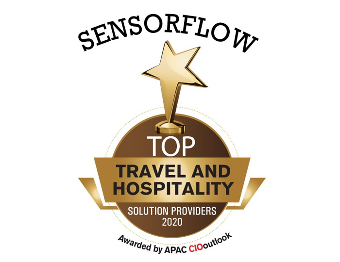 SensorFlow is among Top10 Travel and Hospitality Companies – APAC CIOoutlook 2020